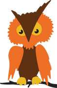 Halloween Owl SVG Cut File