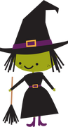Witch #2 SVG Cut File