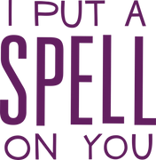I Put A Spell On You SVG Cut File