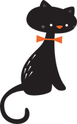 Halloween Cat SVG Cut File