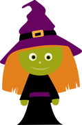 Witch #3 SVG Cut File
