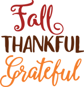 Fall Words SVG Cut File
