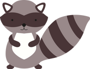 Racoon SVG Cut File