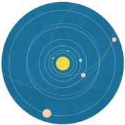 Solar System Print & Cut File