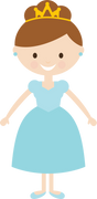 Princess #4 SVG Cut File