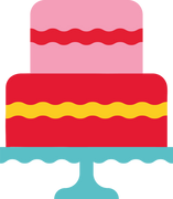 Two Tier Cake SVG Cut File