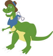 Toy Dinosaur SVG Cut File