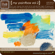 My Paintbox Vol.2 - Brushes & Rub-Ons