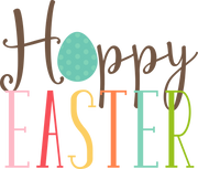 Hoppy Easter SVG Cut File