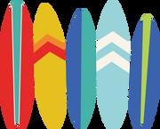 Surfboards SVG Cut File