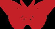 Valentine Butterfly SVG Cut File