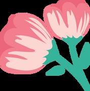 Royal Flowers SVG Cut File