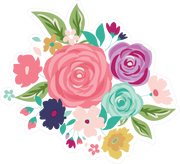 Royal Flower Bundle SVG Cut File