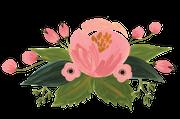 Baby Flower Bundle Print & Cut File