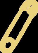 Safety Pin SVG Cut File