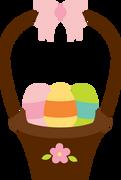 Easter Basket SVG Cut File
