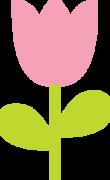 Easter Tulip SVG Cut File