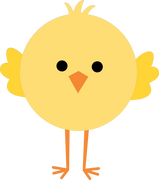 Chick SVG Cut File