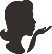 Woman Silhouette SVG Cut File