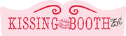 Kissing Booth SVG Cut File