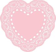 Lace Heart Doily SVG Cut File