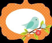 Bird Card SVG Cut File
