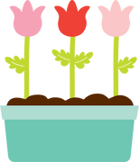 Tulip Box SVG Cut File