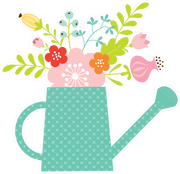 Watering Can Print & Cut File