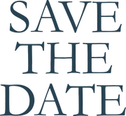 Save The Date SVG Cut File