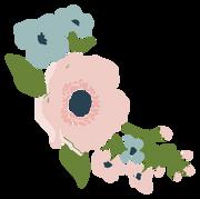 Wedding Flowers #2 SVG Cut File