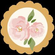 Flower Button SVG Cut File