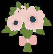 Wedding Bouquet #2 SVG Cut File