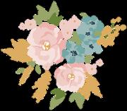 Wedding Flowers #3 Print & Cut File