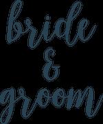 Bride & Groom SVG Cut File