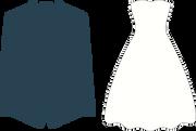 Jacket and Dress SVG Cut File