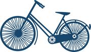 Travel Stories Bike SVG Cut File