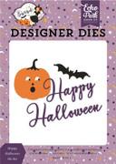 Happy Halloween Die Set