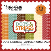 Dots & Stripes: Autumn Gingham