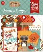 Celebrate Autumn Frames & Tags Ephemera