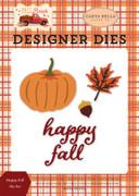 Happy Fall Die Set