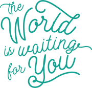 The World Is Waiting For You SVG Cut File