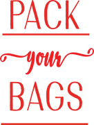 Pack Your Bags SVG Cut File