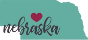 Nebraska State SVG Cut File