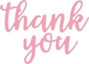 Thank You #3 SVG Cut File