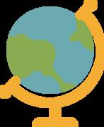 School Globe SVG Cut File