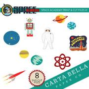 Space Academy Print & Cut Files #1