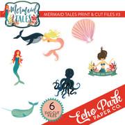 Mermaid Tales Print & Cut Files #3
