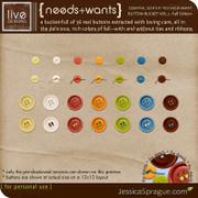 Needs + Wants: Button Bucket Vol.1 (Fall Edition)