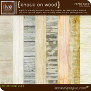 Knock on Wood Paper Pack