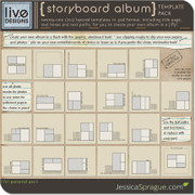 Storyboard Album Template Pack